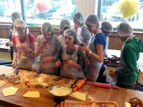 Klasa VI w Akademii Piekarza