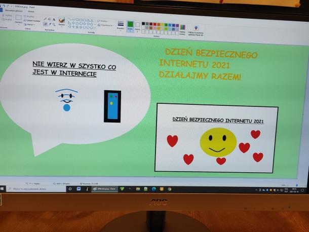 Dzień Bezpiecznego Internetu w klasach pierwszych