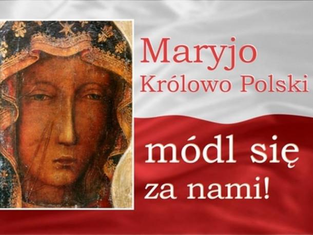 3 maja obchodzimy uroczystość Matki Bożej Królowej Polski