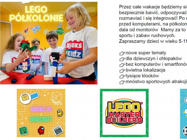 Lego - półkolonie w naszej szkole