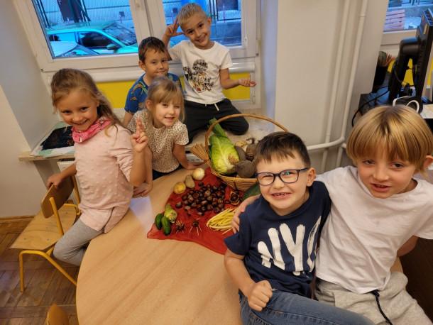 Poznajemy warzywa w klasie 0b