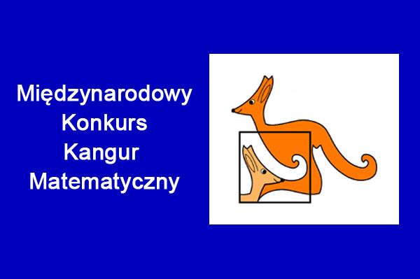 """Międzynarodowy Konkurs """"Kangur Matematyczny"""""""