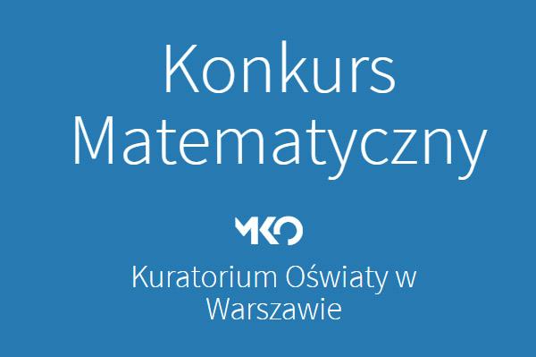 Wojewódzki Konkurs Matematyczny